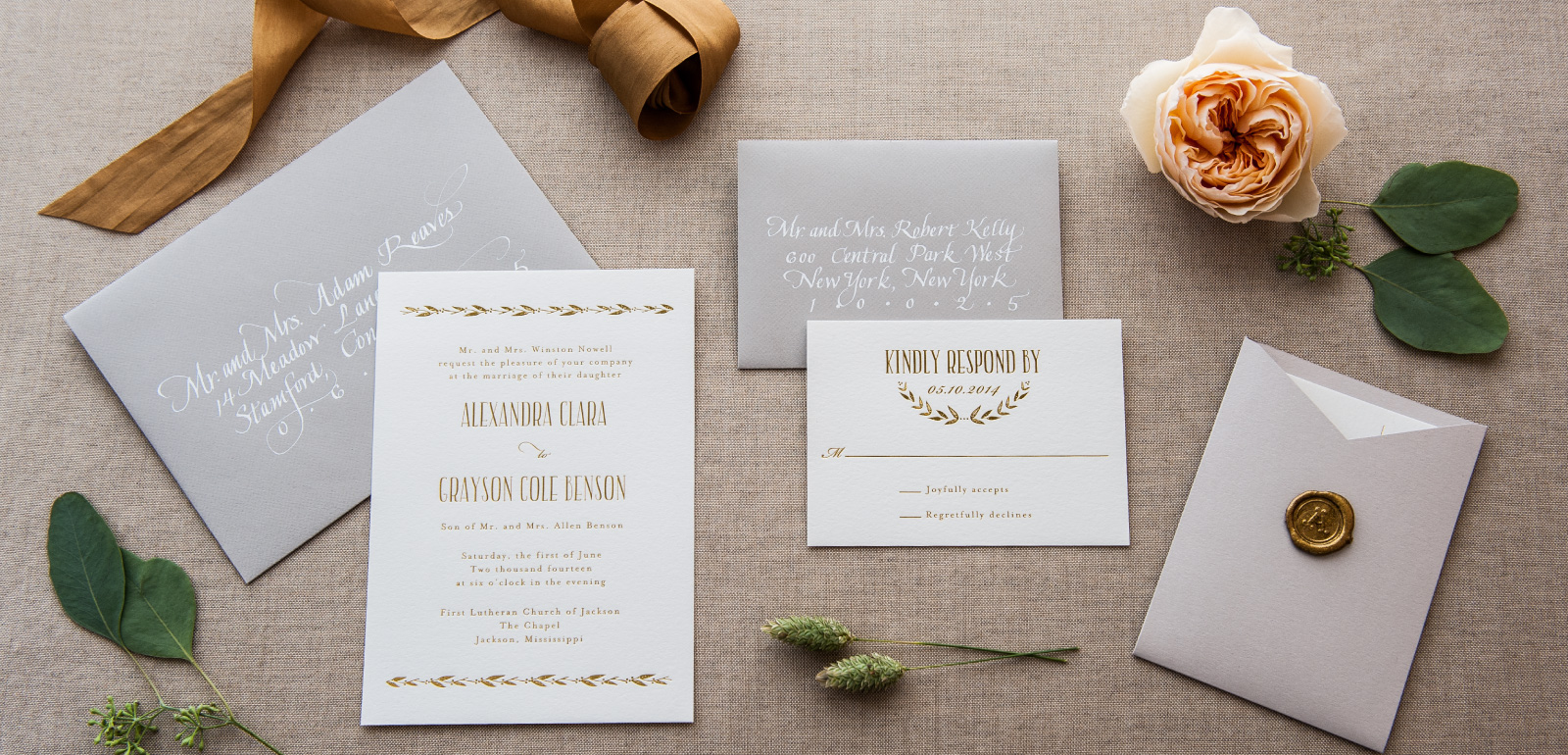 Customization Options   Liners, Foils, Inks, Ribbon, and Monograms.