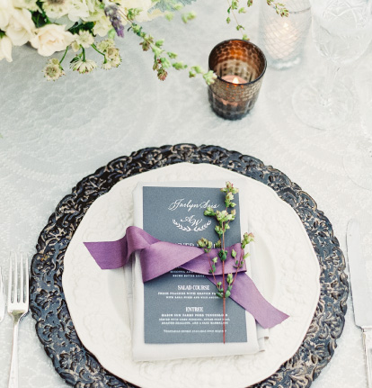 Wedding Day of Paper | Place Cards, Escort Cards, Menus, Programs and Signage