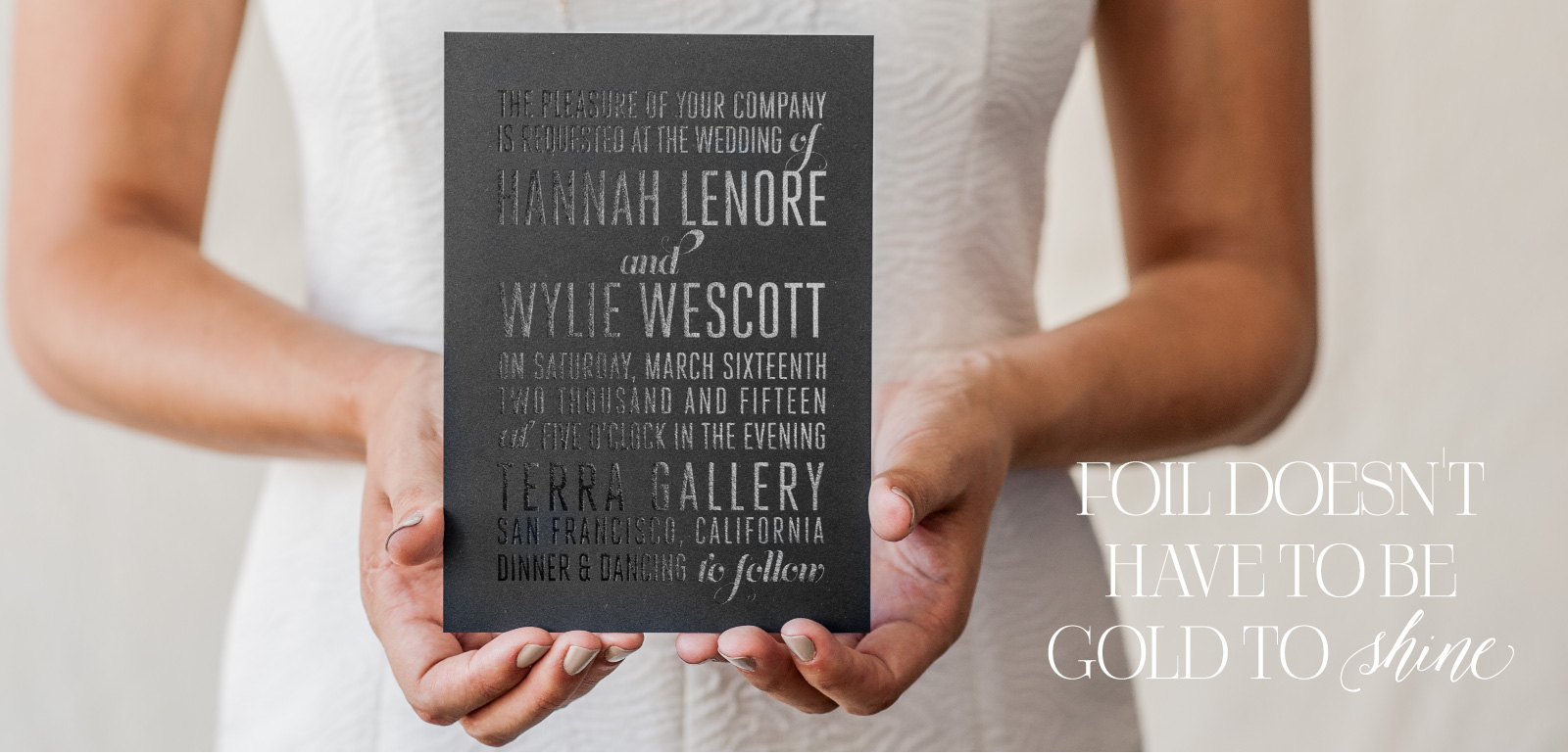 gold and silver foil wedding invitations foiled invitations